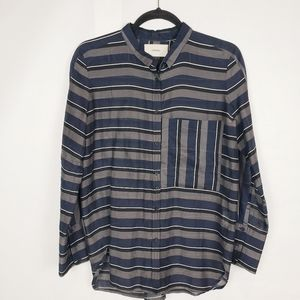 Humanoid button down blouse
